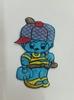 Аппликации мальчик AP204-16 (голубой) Цена за 10 шт