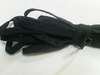 Резинка тубуляр(полая) REZTUB15-3 (черный) Цена за 10 метров
