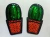 Аппликации кактус AK477-3 (зеленый)