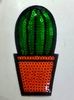 Аппликации кактус AK477b-3 (зеленый)