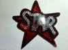 Аппликации звезда STAR AKS19-4 (красный)