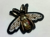 Аппликации пришивные муха AP215-27 (коричневый)