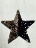 Аппликации звезды AKR1-3-42 (черный с серебром)