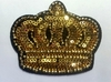 Аппликации корона AK479-41 (золото)