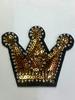 Аппликации корона AK478-41 (золото)