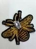 Аппликации пришивные жук AK493-41(золото)