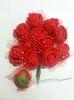 Цветы из фоамирана TSF2-4 (красный)