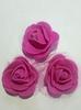Цветы из фоамирана TSF1-37 (темно розовый)