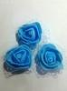 Цветы из фоамирана TSF1-16 (голубой)
