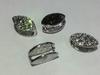 Подвески декор  PDK1-42 (серебро)