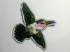 Аппликации птицы AK40-18 (зеленый)