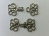 Крючки декоративные KDM4sm-42 (серебро)