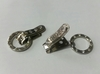 Крючки шубные KSH1-42 (серебро)