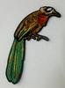 Аппликации птицы AK407-27 (коричневый)