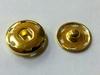 Кнопки металлические KM-41 (золото) размер 1,5 и 1,9см