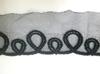 Кружево на сетке 44-4006-3 (черный)