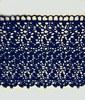 Кружево гипюр 70802-12 (темно синий) Цена за 9 метров