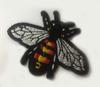 Аппликации насекомые AK252-3 (черный) Цена за 4 шт