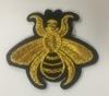 Аппликации насекомые AK394-41 (золото) Цена за 4 шт