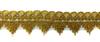 Тесьма металлизированная 28-7-41 (золото) Цена за 13,7 метра