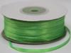 Лента атласная AL03-22 (светло зеленый) Цена за 100 ярд.(91,4 м)