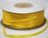 Лента атласная AL03-9 (желтый) Цена за 100ярд.