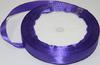 Лента атласная AL12-43 ( фиолетовый) Цена за 25ярд.