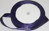 Лента атласная AL12-45 (темно фиолетовый) Цена за 25ярд.