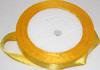 Лента атласная AL12-9 (желтый) Цена за 25ярд.  (22,85 м)