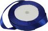 Лента атласная AL15-11 ( синий) Цена за 25ярд.