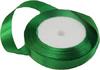 Лента атласная AL15-18 ( зеленый) Цена за 25ярд. (22,85 м)