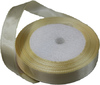 Лента атласная AL15-25 ( светло бежевый) Цена за 25ярд.   (22,85 м)