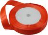 Лента атласная AL15-32 ( ярко оранжевый) Цена за 25ярд.   (22,85 м)