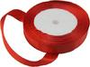 Лента атласная AL15-4 ( красный) Цена за 25ярд.