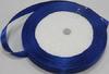 Лента атласная AL1-11 (синий) Цена за 25ярд.