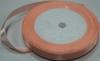 Лента атласная AL1-33 (персиковый) Цена за 25ярд.  (22,85 м)