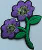 Аппликации цветок AP042-43 (фиолетовый) Цена за 10шт.