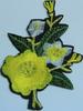 Аппликация цветок AP07-7-1 (желтый) Цена за 10шт.