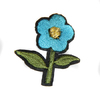 Аппликации цветок AP039-16 (голубой) Цена за 10 шт