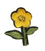 Аппликации цветок AP039-9 (ярко желтый) Цена за 10 шт