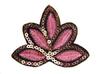 Аппликации цветок AP01-34 (розовый) Цена за 10 шт