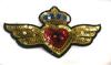 Аппликации герб AK348-41 (золото) Цена за 2 шт