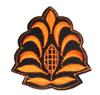 Аппликации цветок AP03-31 (оранжевый) Цена за 20 шт