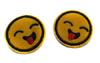 Аппликации смайлики AK143-7 (желтый) Цена за 10 шт