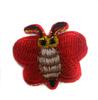 Аппликации бабочки AP043-4 (красный) Цена за 5 шт