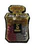 Аппликации духи AK128-34 (розовый) Цена за 2 шт