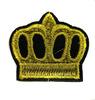Аппликации корона AK117-41 (золото) Цена за 4 шт