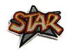 Аппликации звезда STAR AK122-4 (красный)