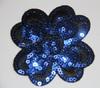 Аппликации цветок AP-11 (синий) Цена за 5 шт