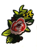 Аппликации цветы AK137-34 (розовый) Цена за 2 шт